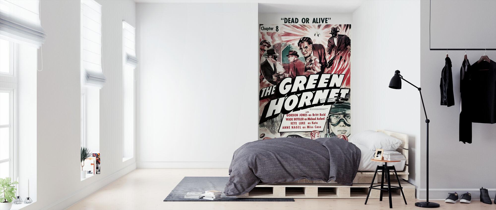 Movie Poster De Groene Hornet - Behang - Slaapkamer