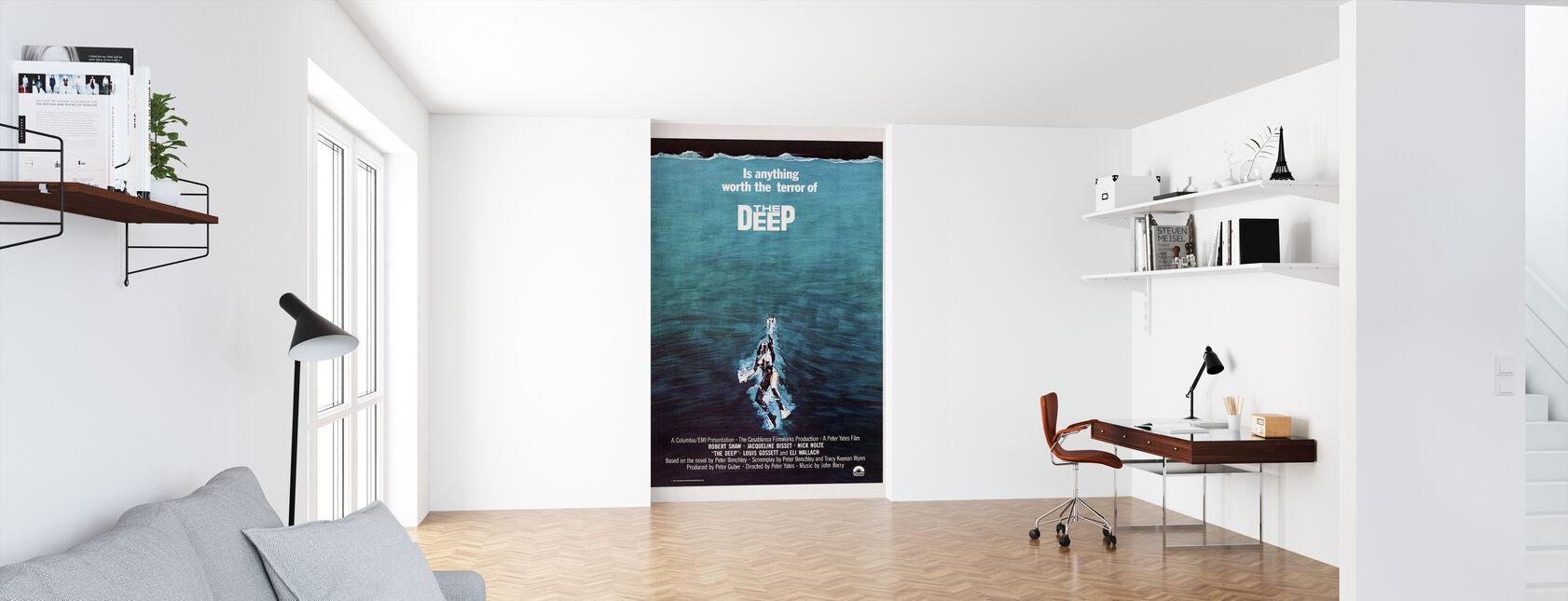 Film plakat Terror af den dybe - Tapet - Kontor