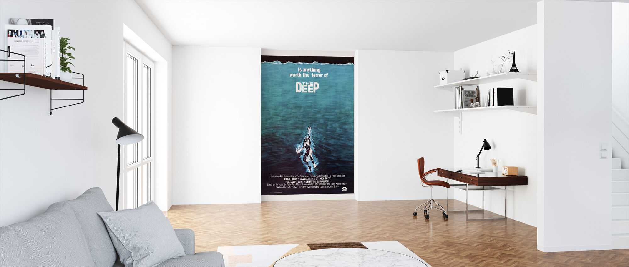 Movie Poster The Terror of The Deep - Wallpaper - Office