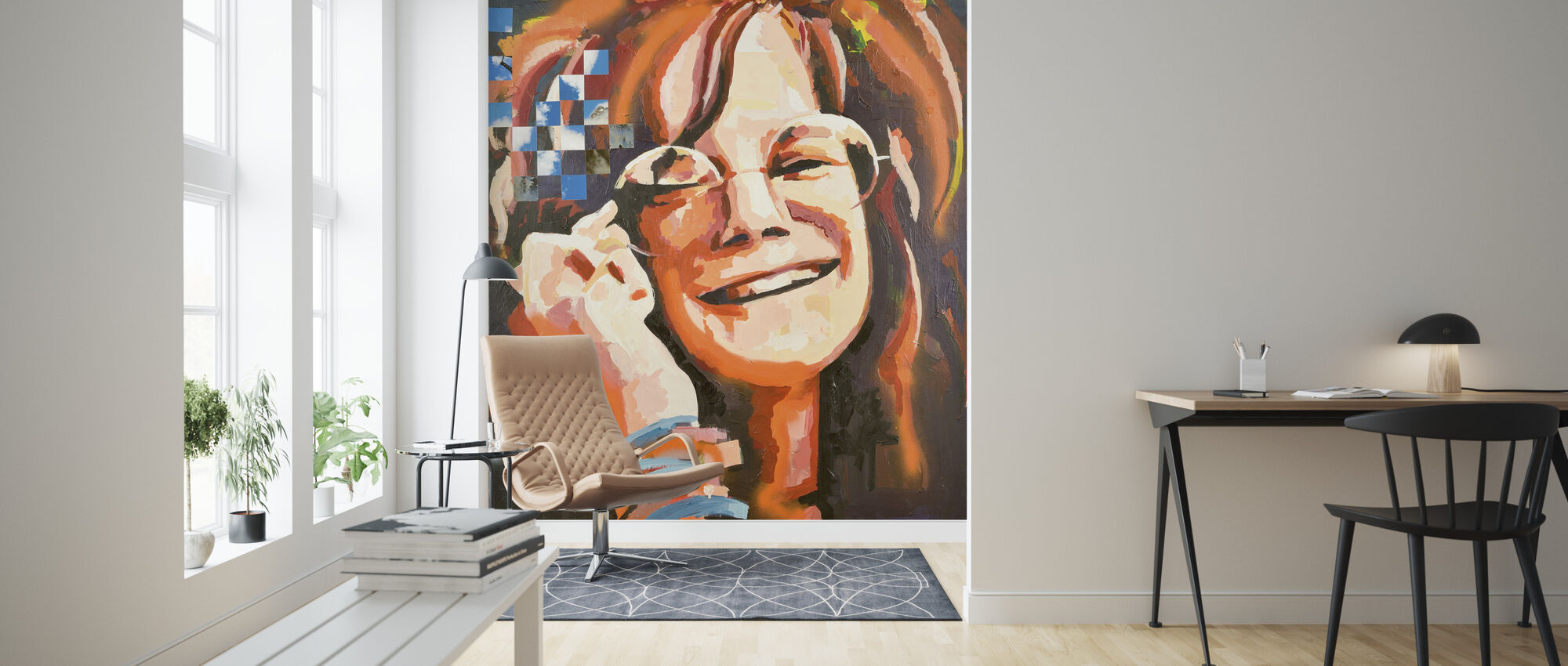 Mrs Woodstock - Wallpaper - Living Room