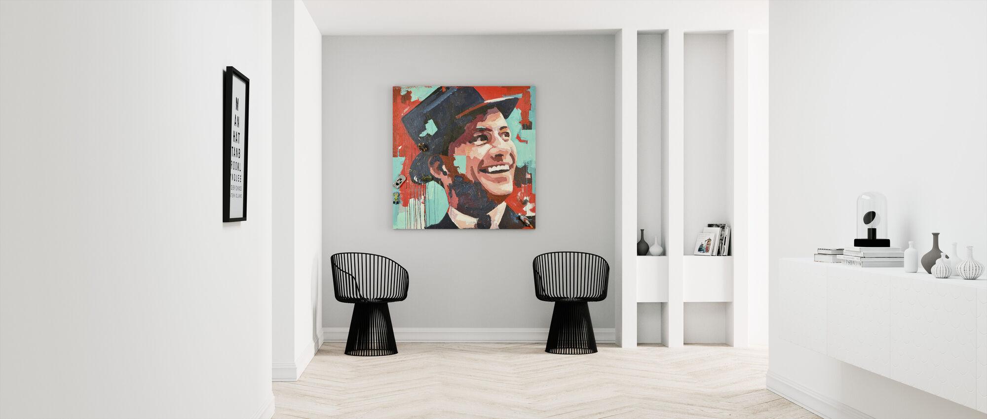 Rat Pack - Canvas print - Hallway