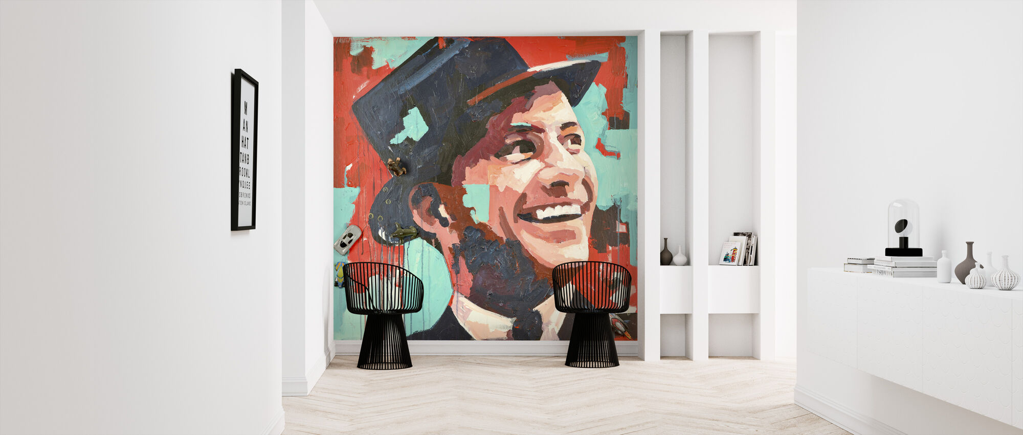 Rat Pack - Wallpaper - Hallway