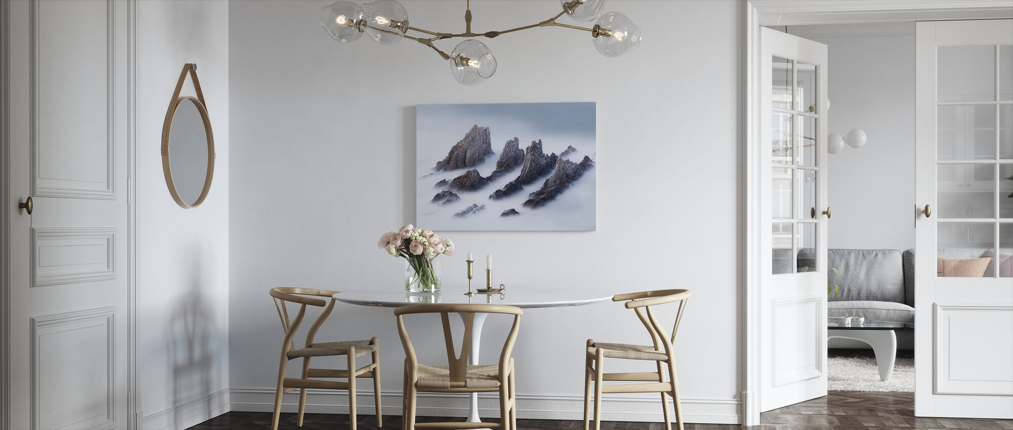 Crests and Valleys - Canvas print - Kitchen