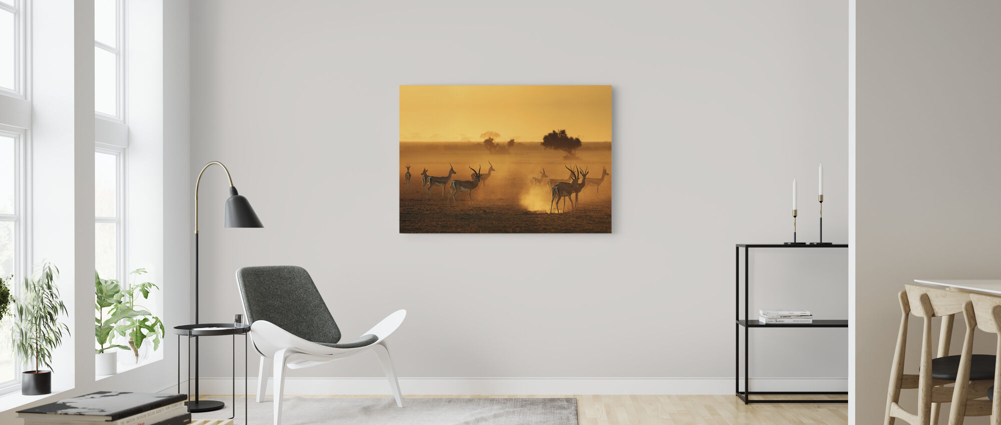 Sentinels - Canvas print - Living Room