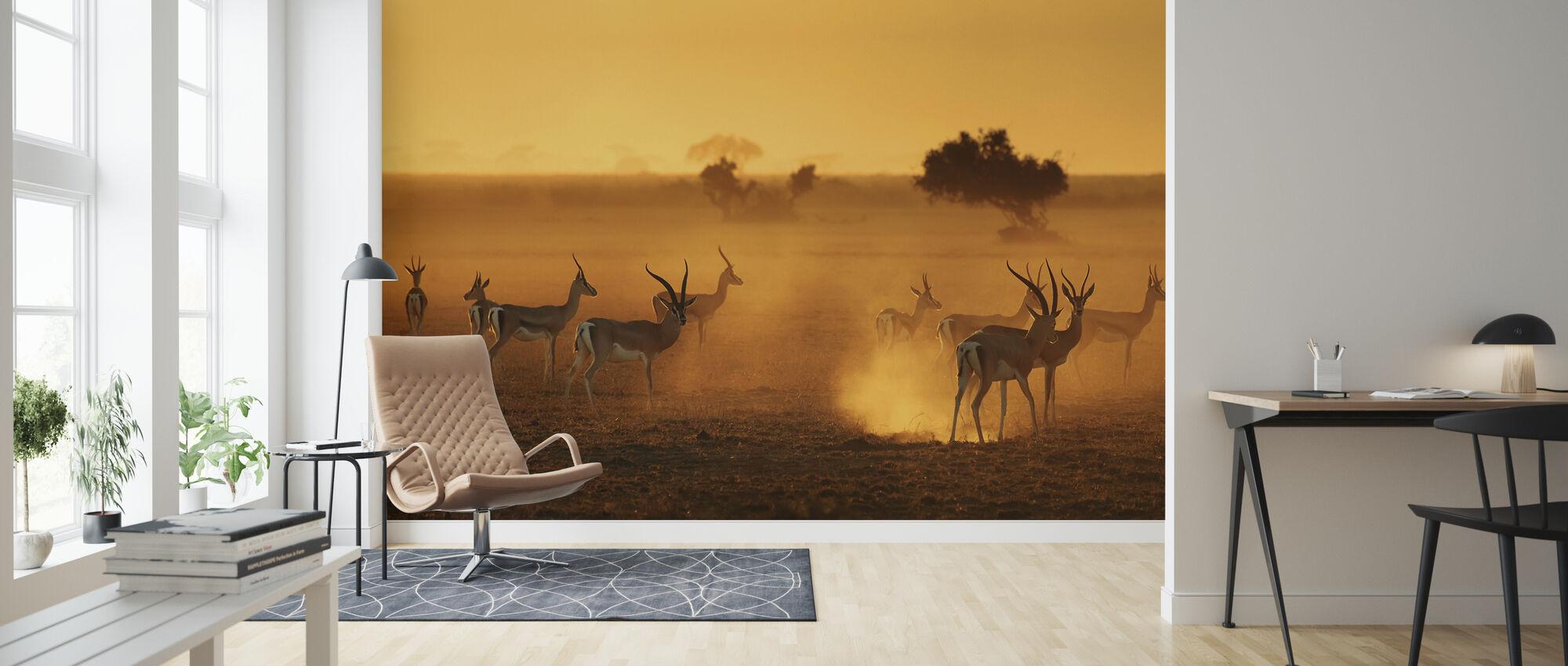 Sentinels - Wallpaper - Living Room