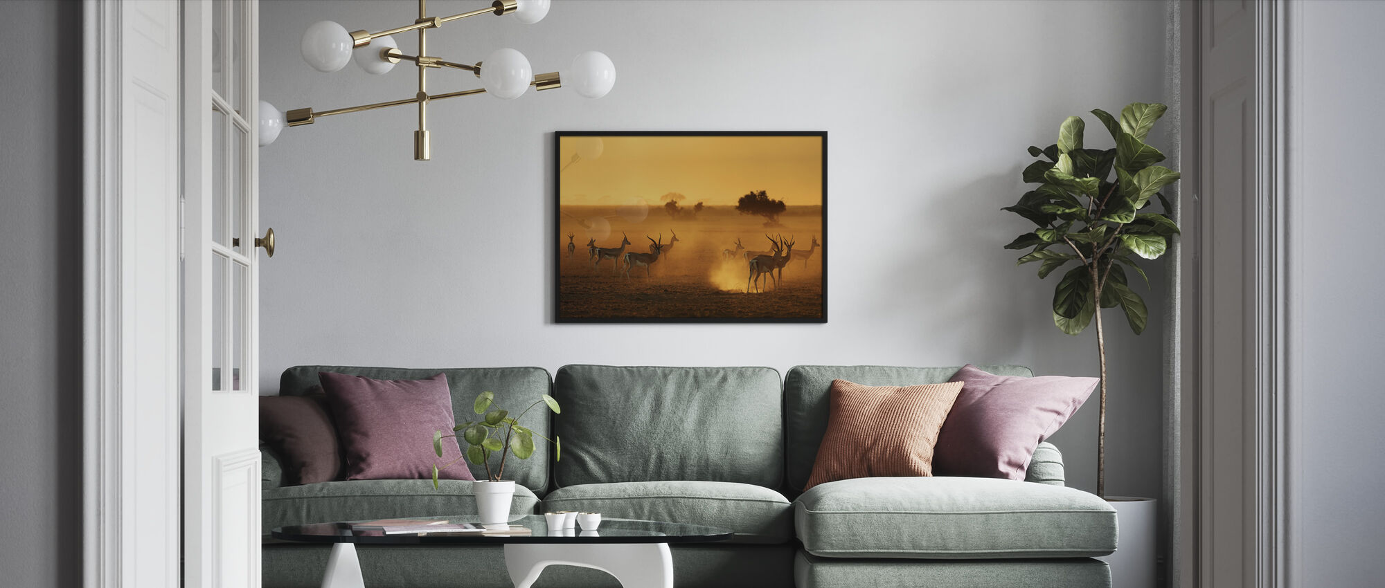 Sentinels - Framed print - Living Room