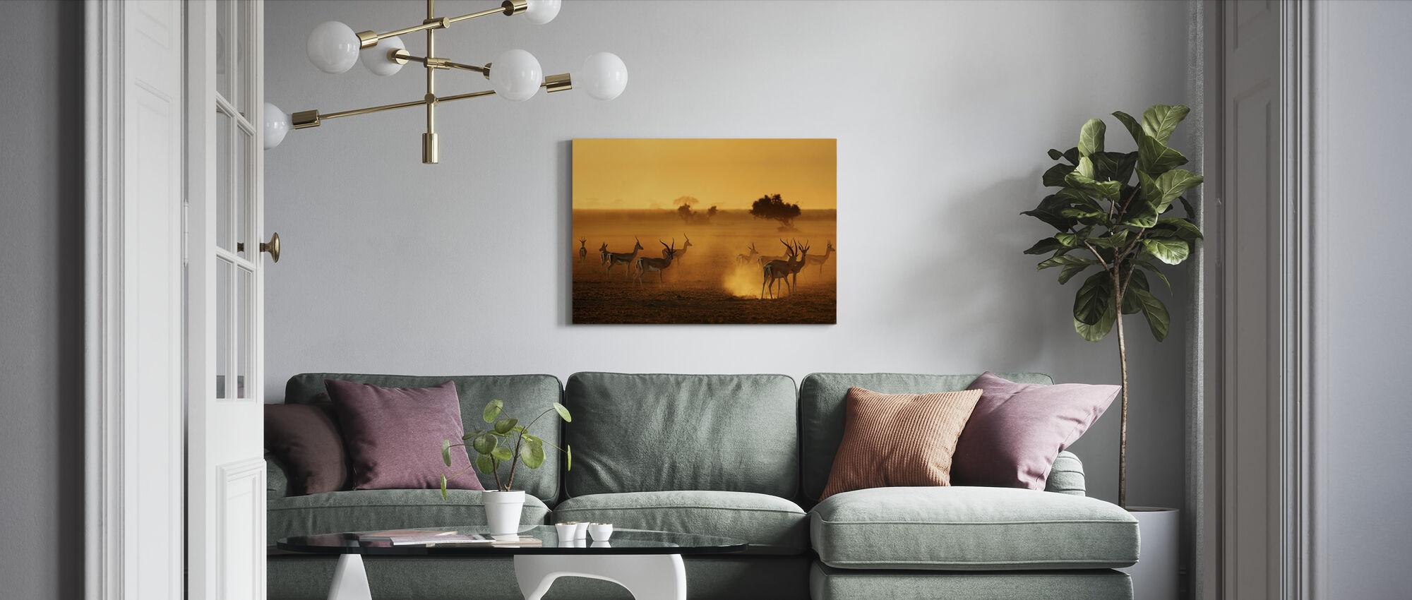Sentinels - Canvas print - Woonkamer