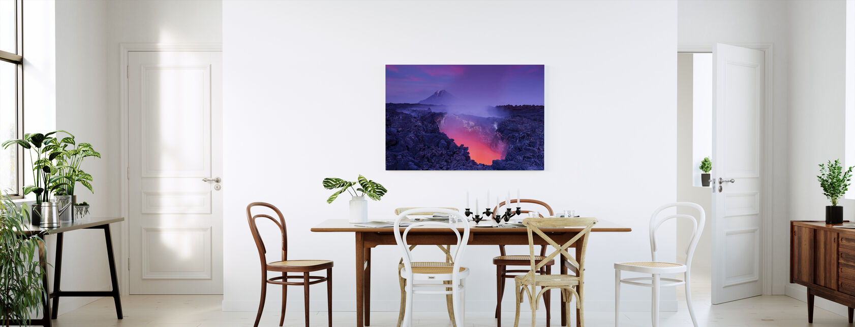 Gate to Hell - Canvas print - Kitchen