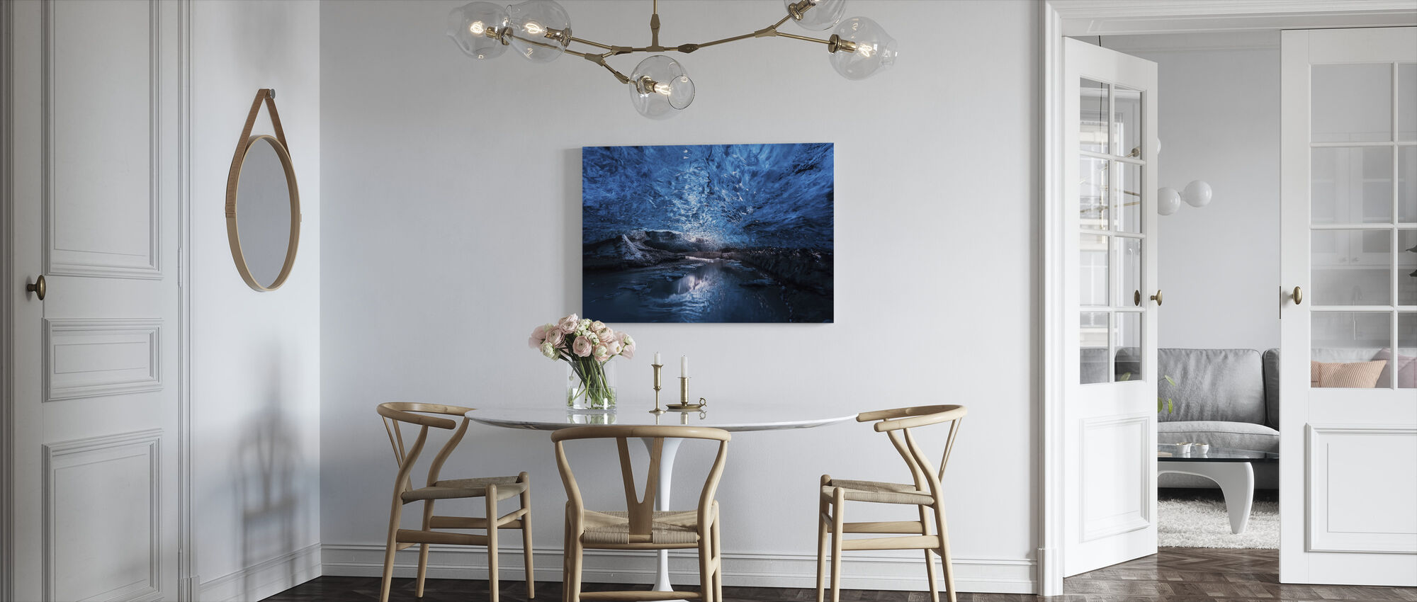Deep Inside - Canvas print - Kitchen