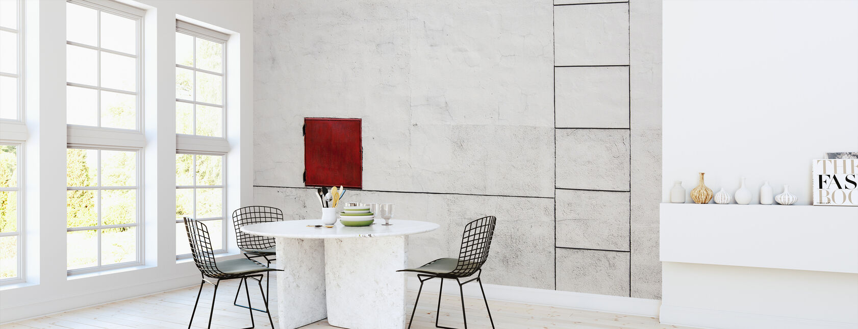 Suprematism is all Around - Wallpaper - Kitchen