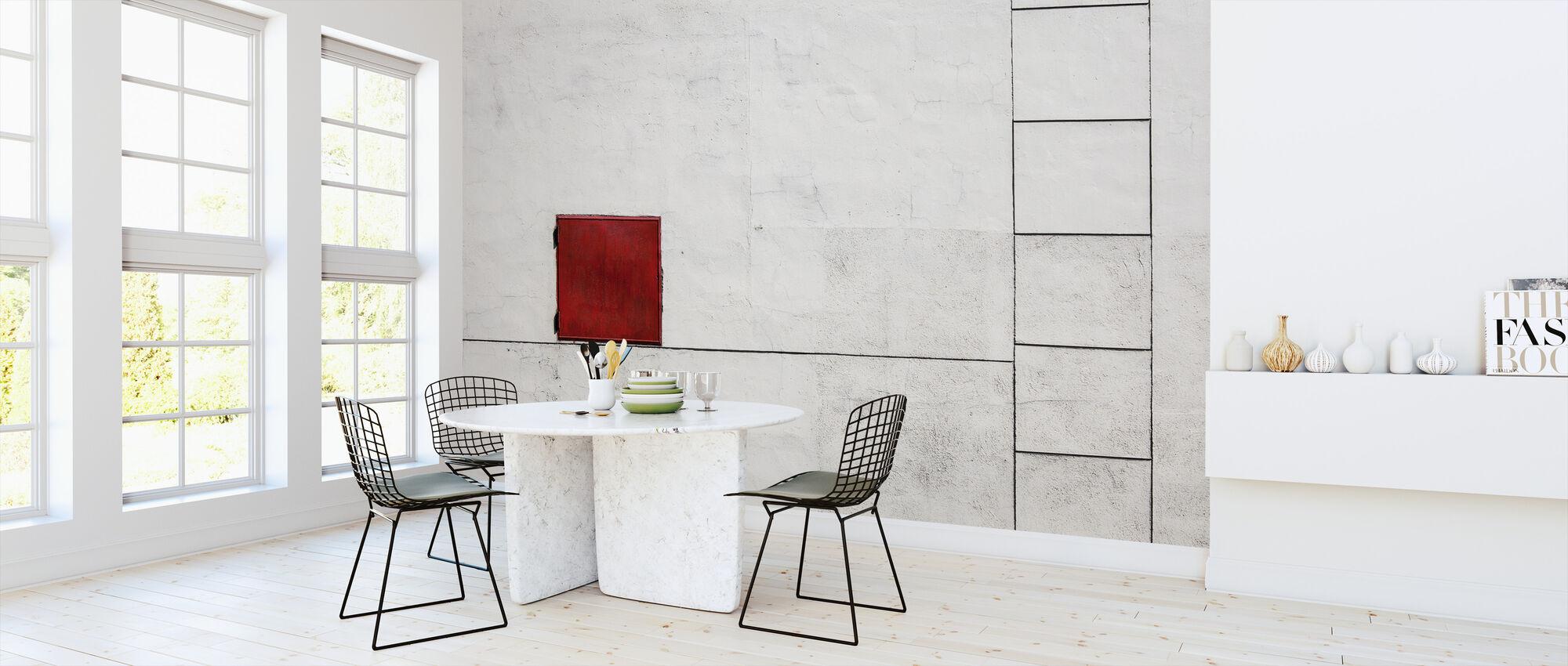 Suprematism is all Around - Wallpaper - Kitchen