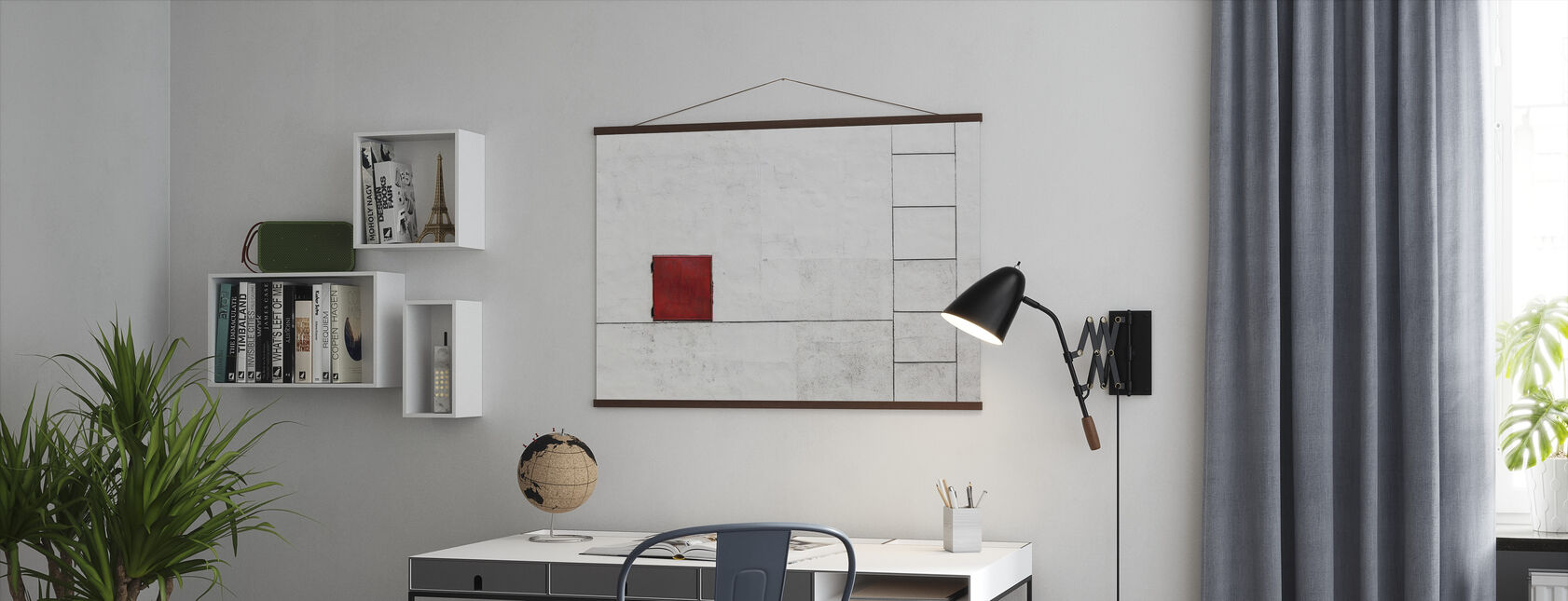 Suprematism is all Around - Poster - Office