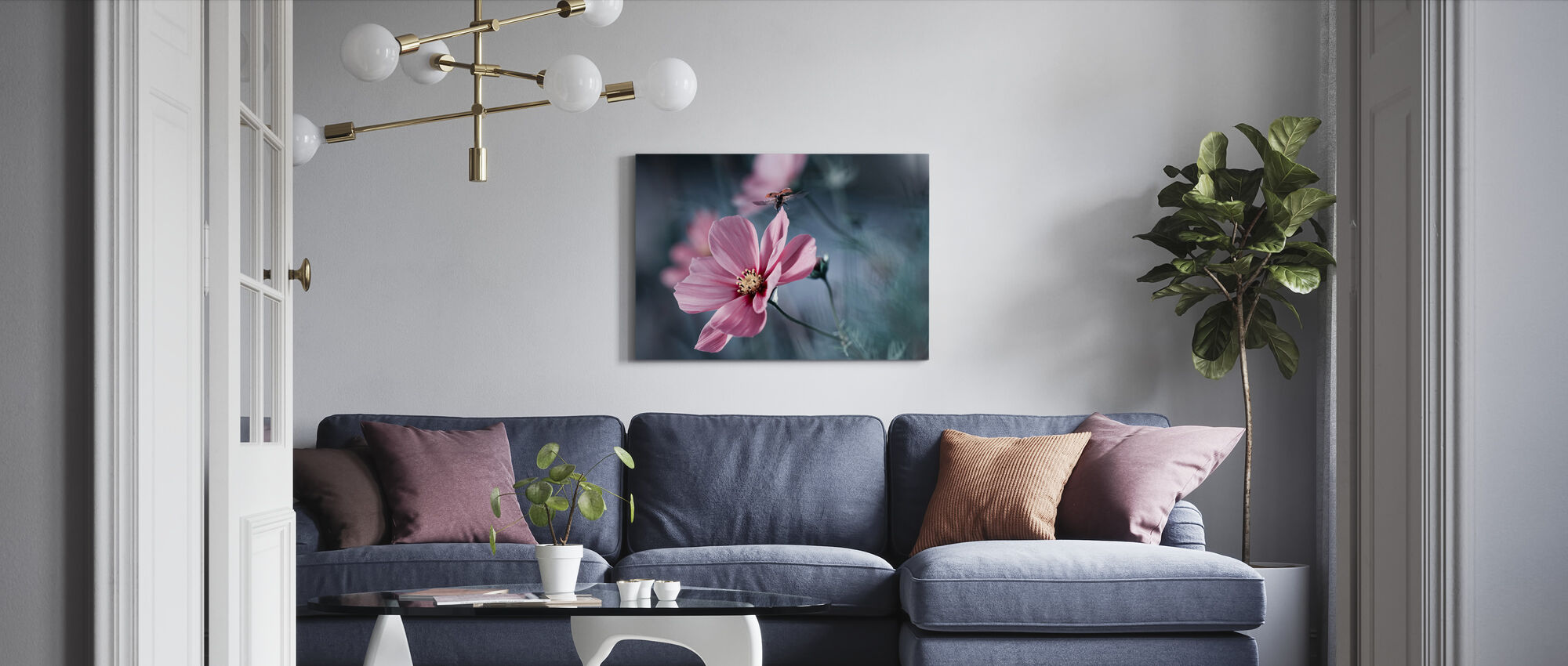 Enchanted Ladybug - Canvas print - Living Room