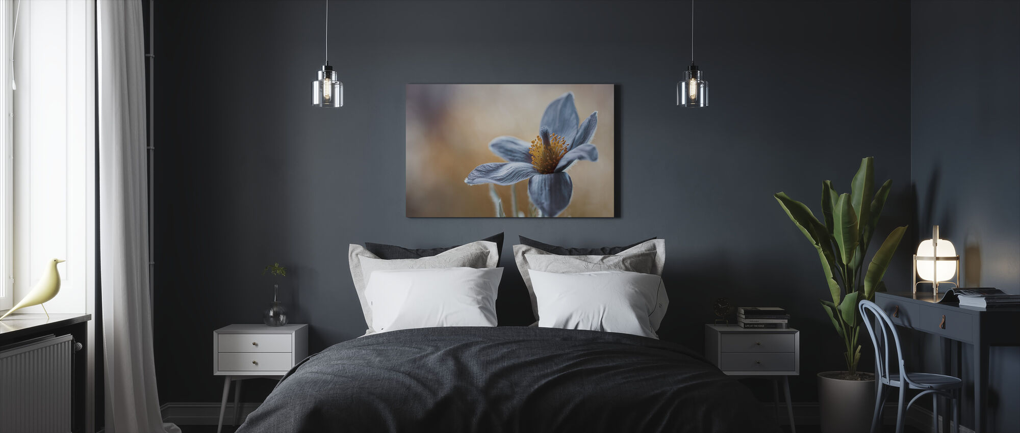Not just any Flower - Canvas print - Bedroom