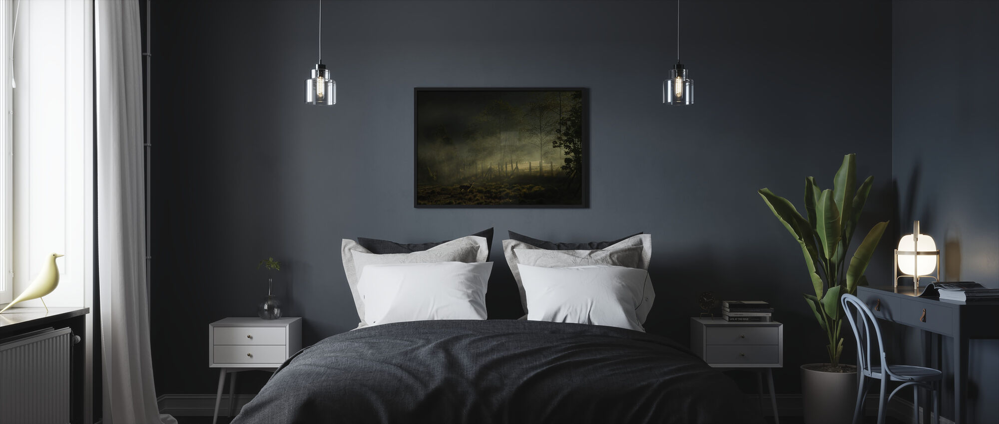Misty Morning - Framed print - Bedroom