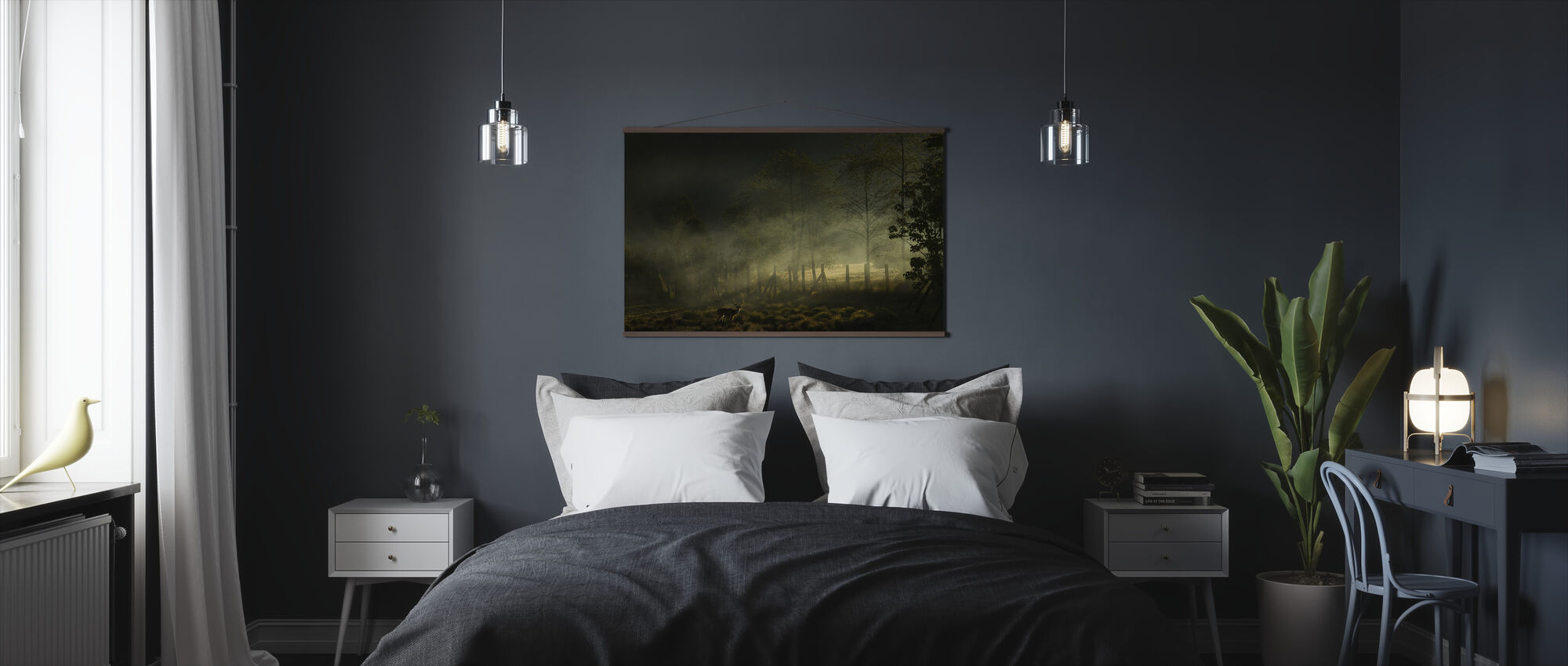 Misty ochtend - Poster - Slaapkamer