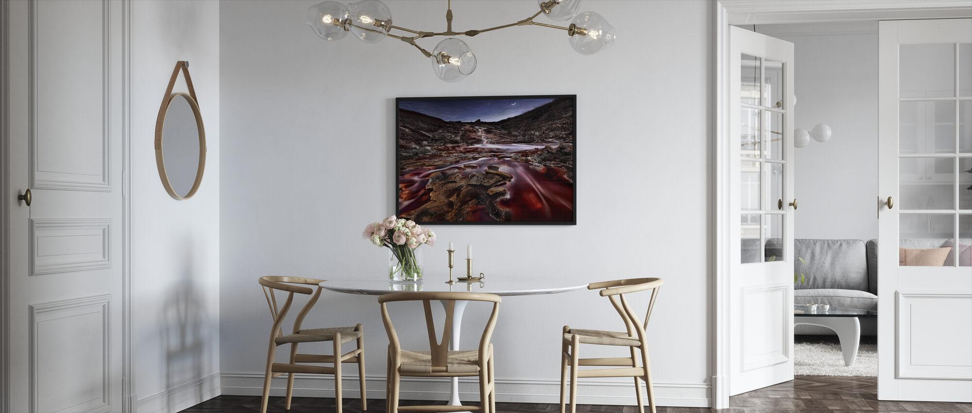 Viimeiset valot Rio Tinto - Kehystetty kuva - Keittiö