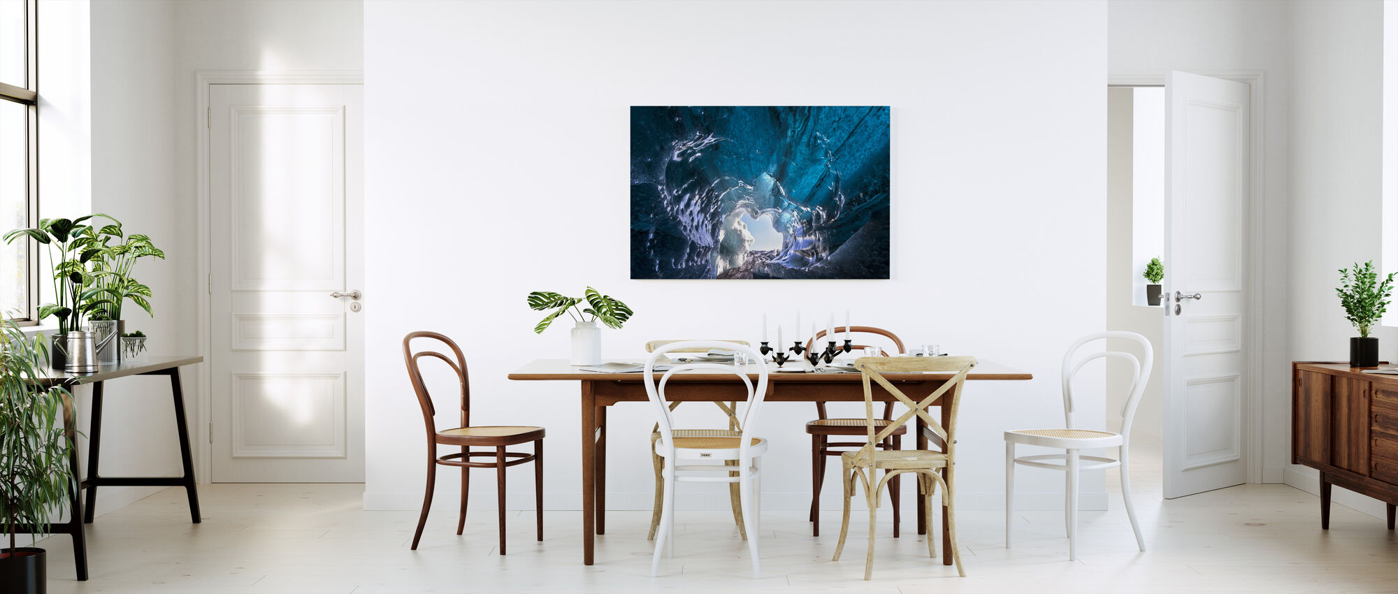 Outside World - Canvas print - Kitchen