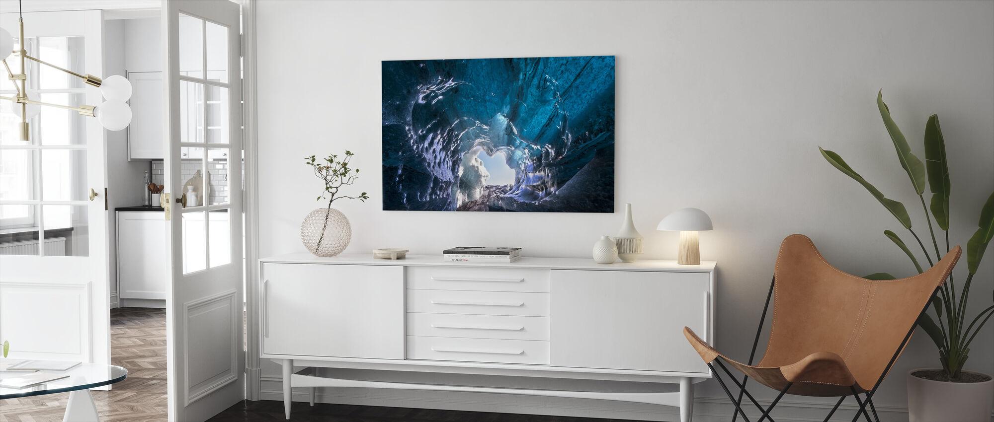 Outside World - Canvas print - Living Room
