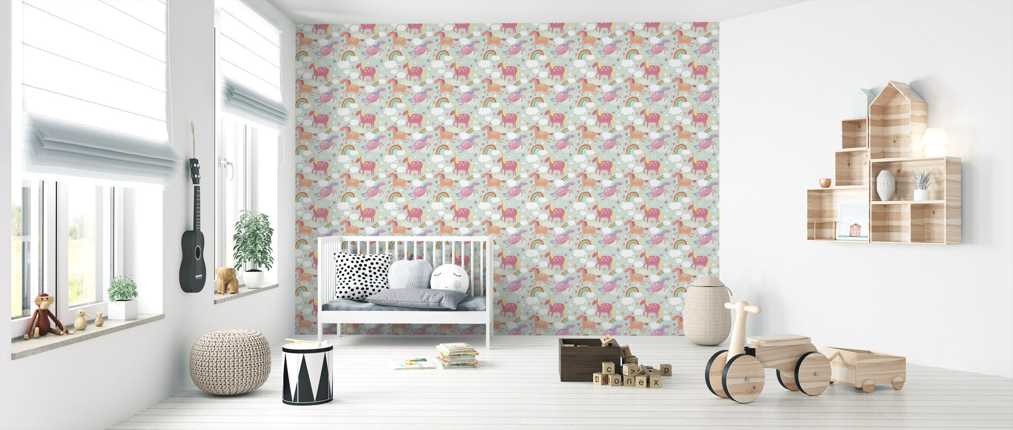Unicorn - Wallpaper - Nursery