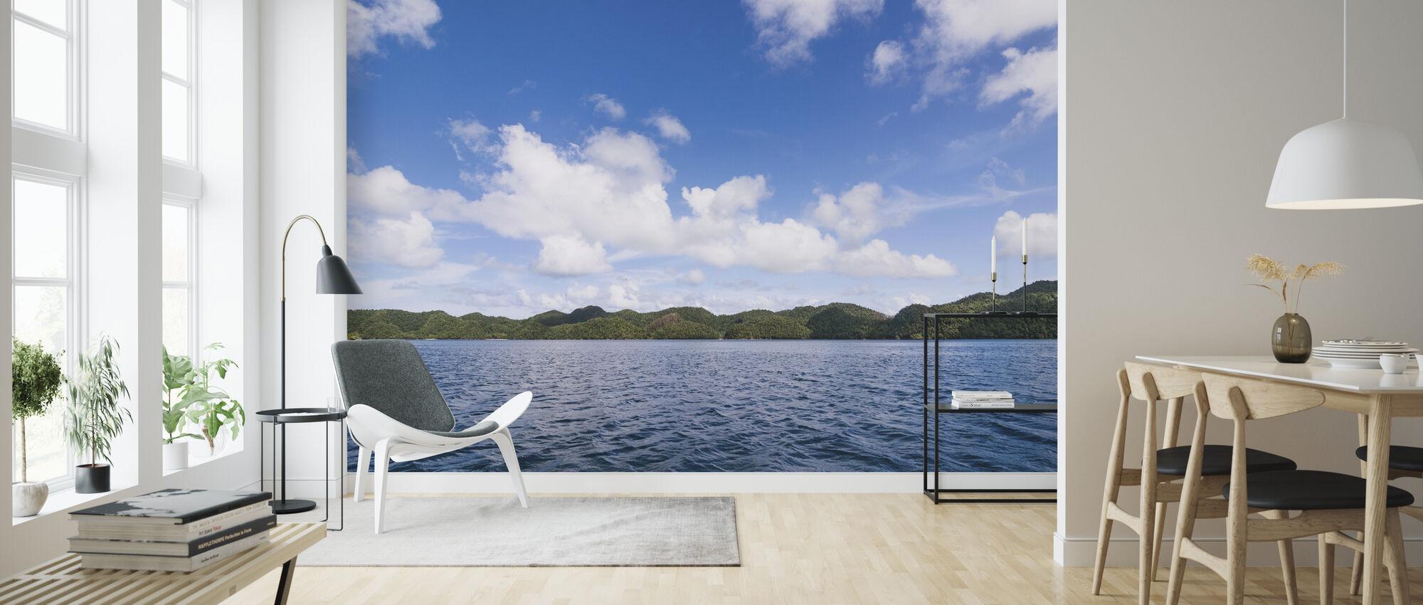 Bucas Grande Islets - Wallpaper - Living Room