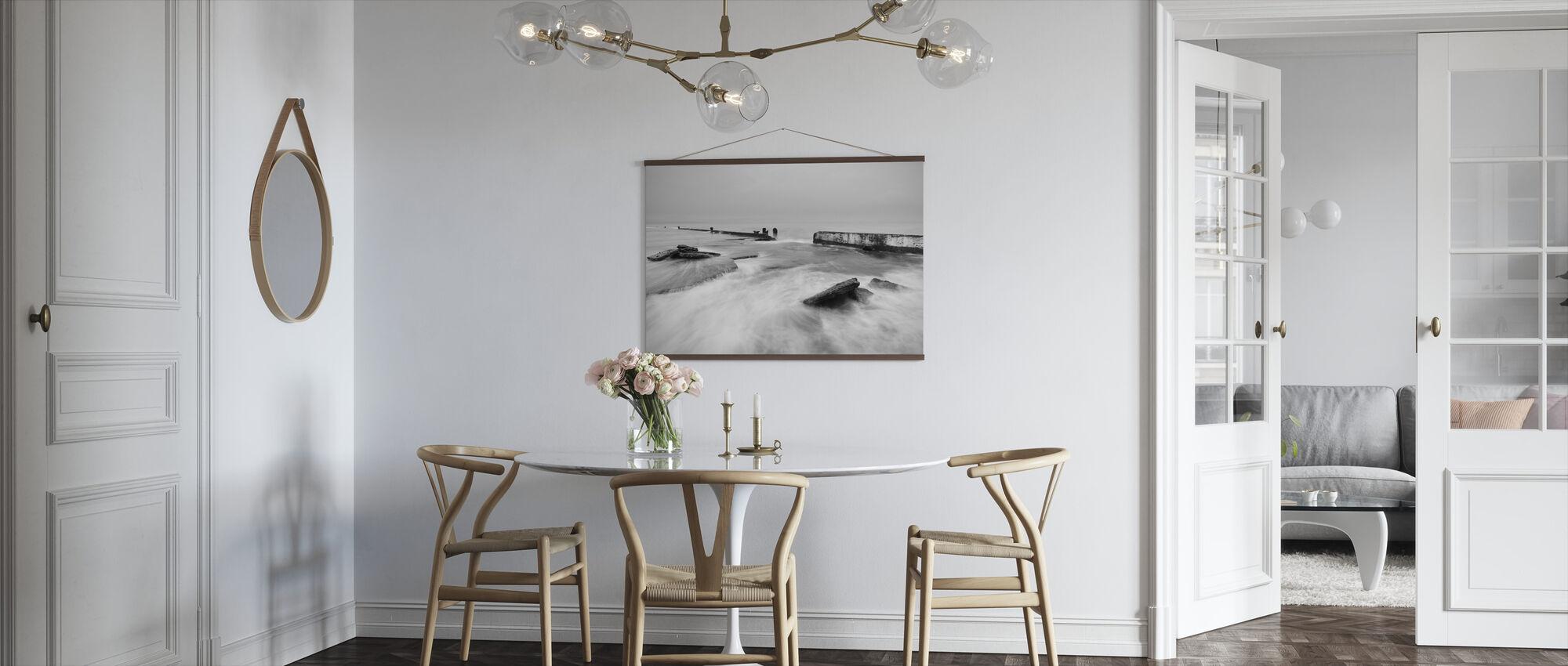 Overstromend zeewater in Mono - Poster - Keuken