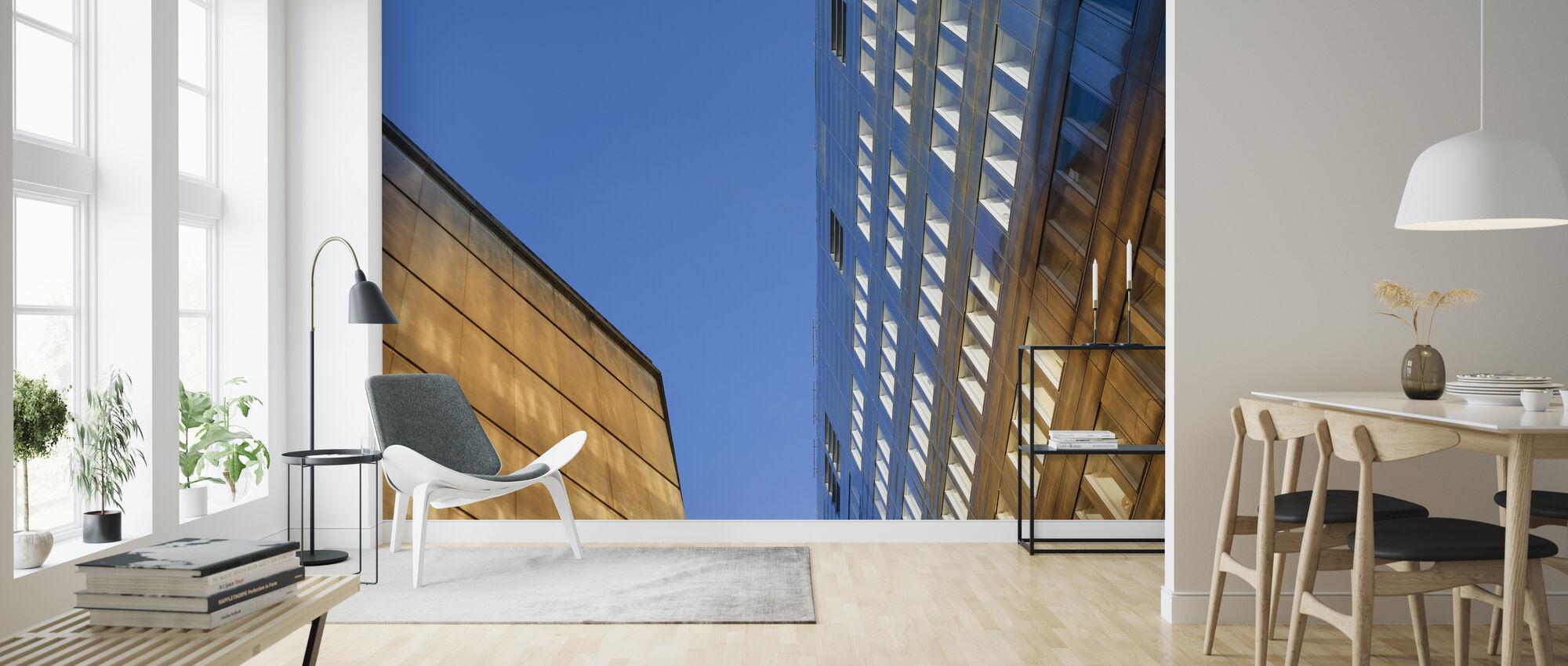 Architectural Details in Drottninggatan Stockholm - Wallpaper - Living Room