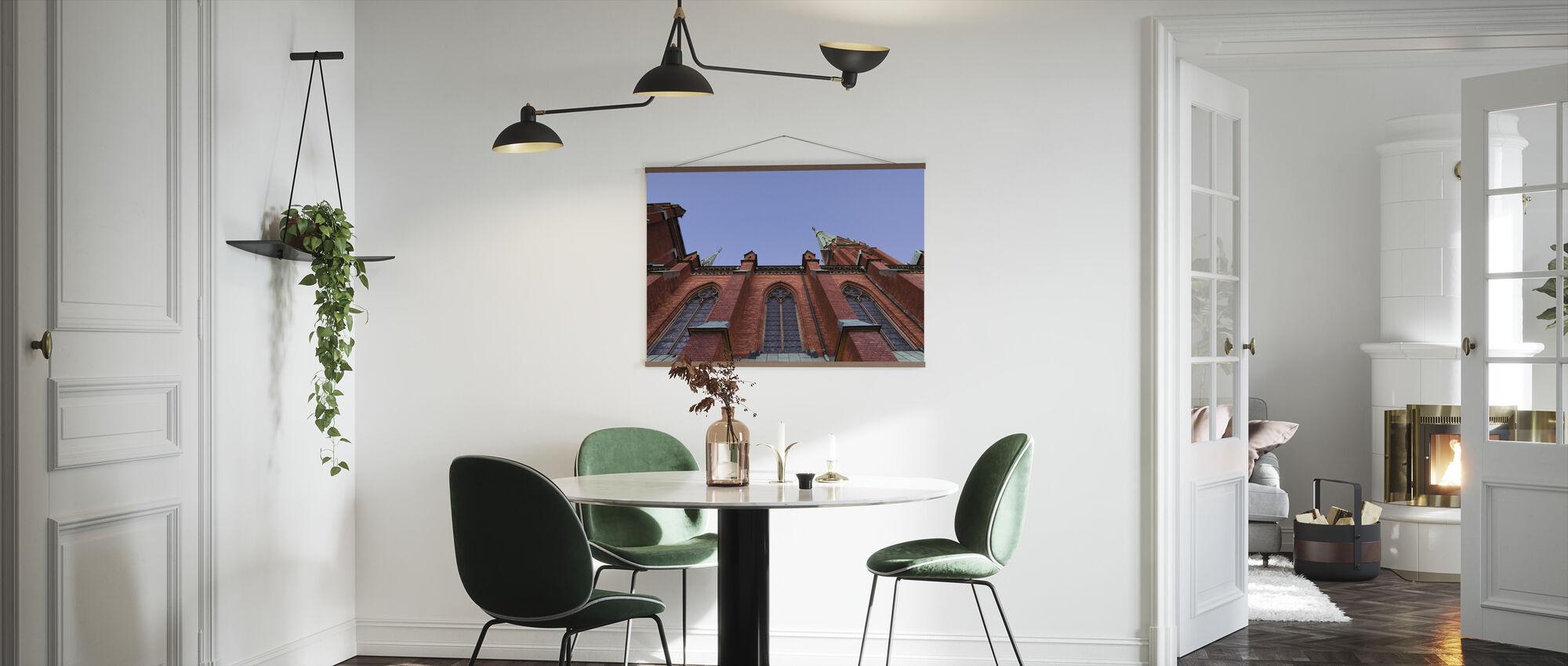 Architectural Details of Johannes Kyrka - Poster - Kitchen