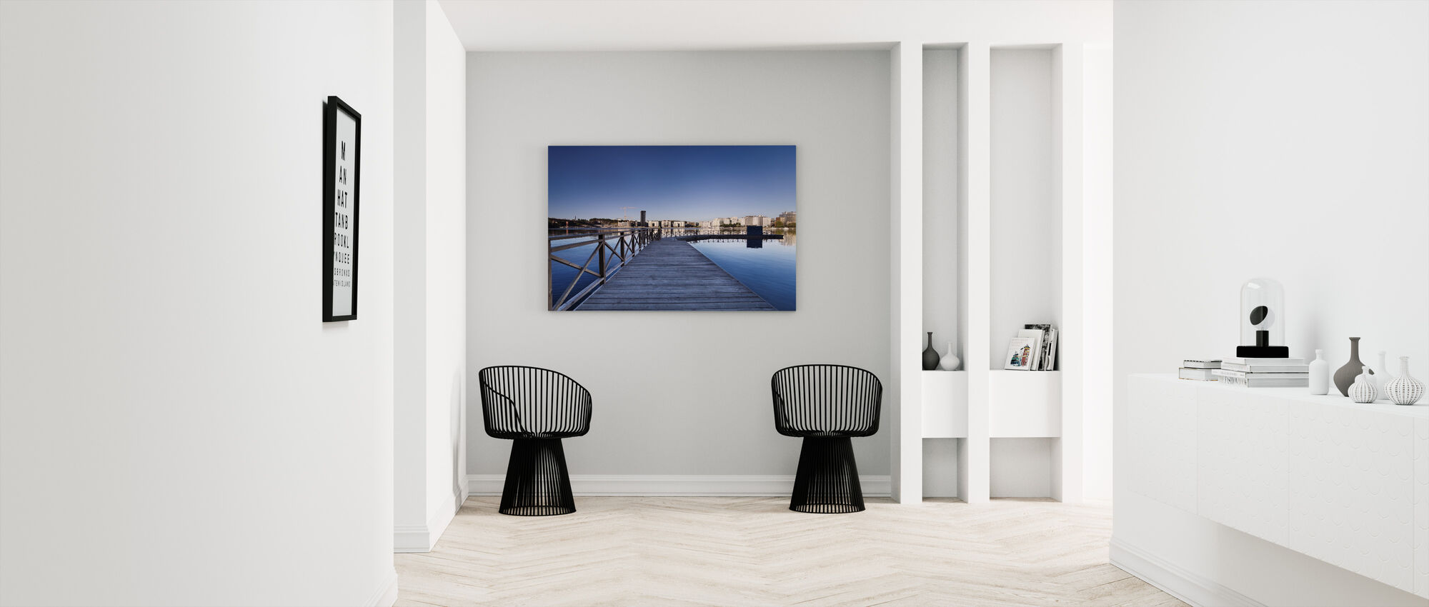 Tanto at Morning - Canvas print - Hallway