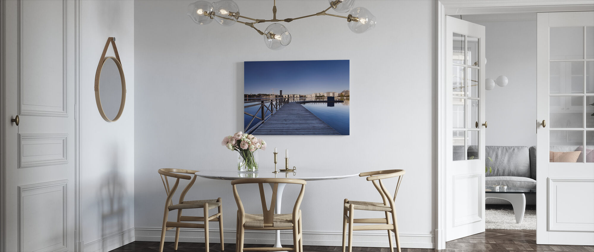 Tanto at Morning - Canvas print - Kitchen