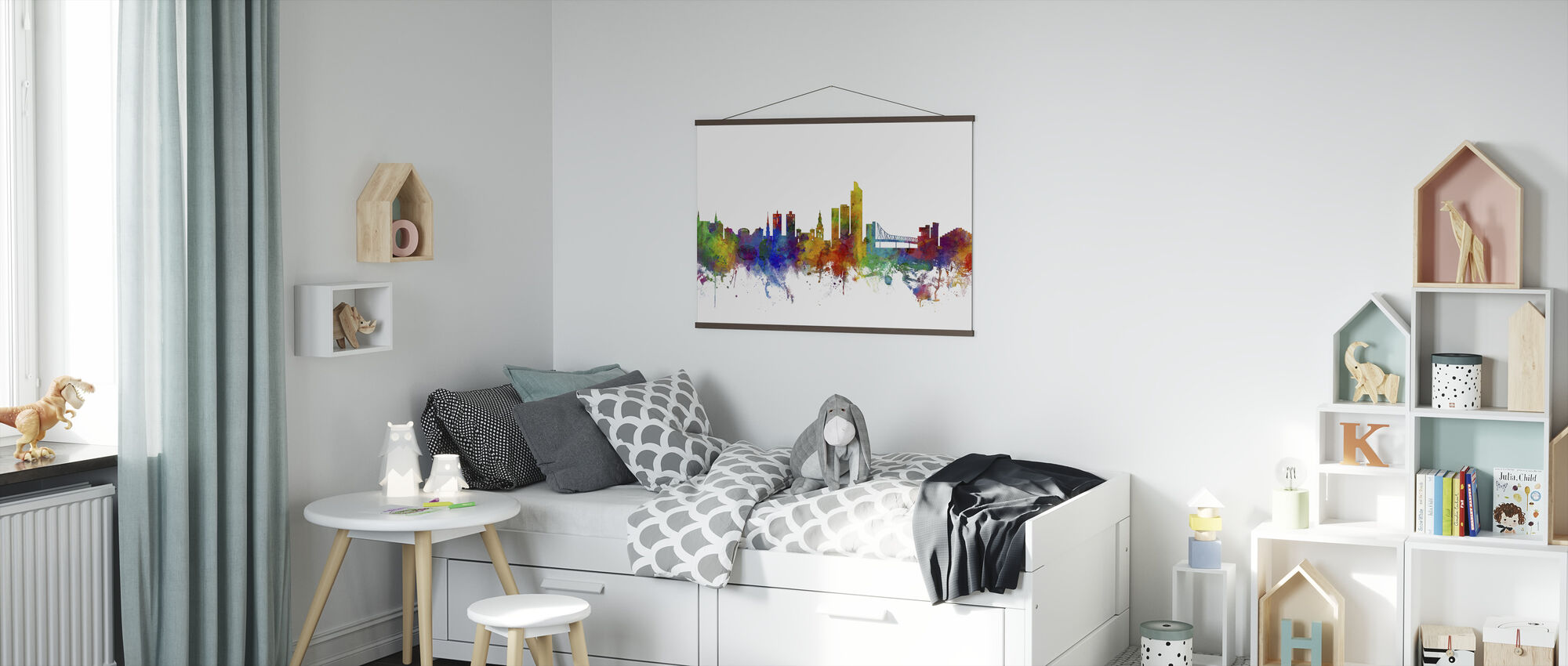 Oslo Skyline - Plakat - Barnerom