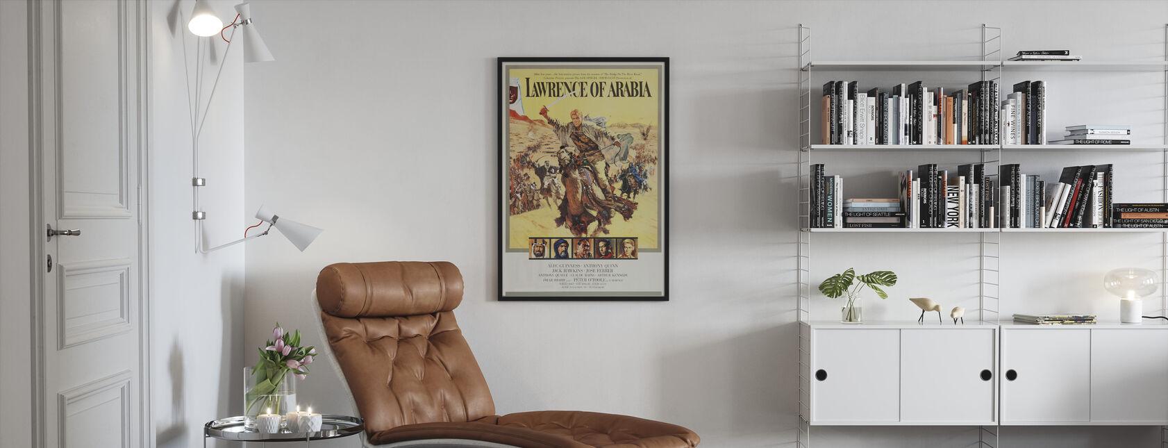 Plakat kunst Lawrence av Arabia - Innrammet bilde - Stue