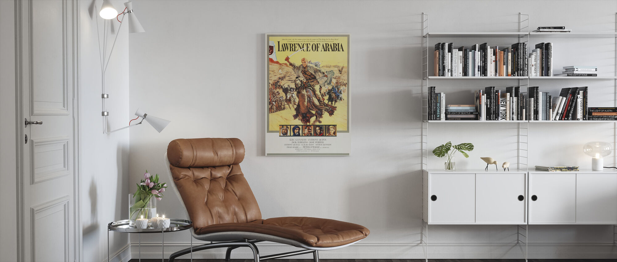 Poster Art Lawrence of Arabia - Canvas print - Living Room