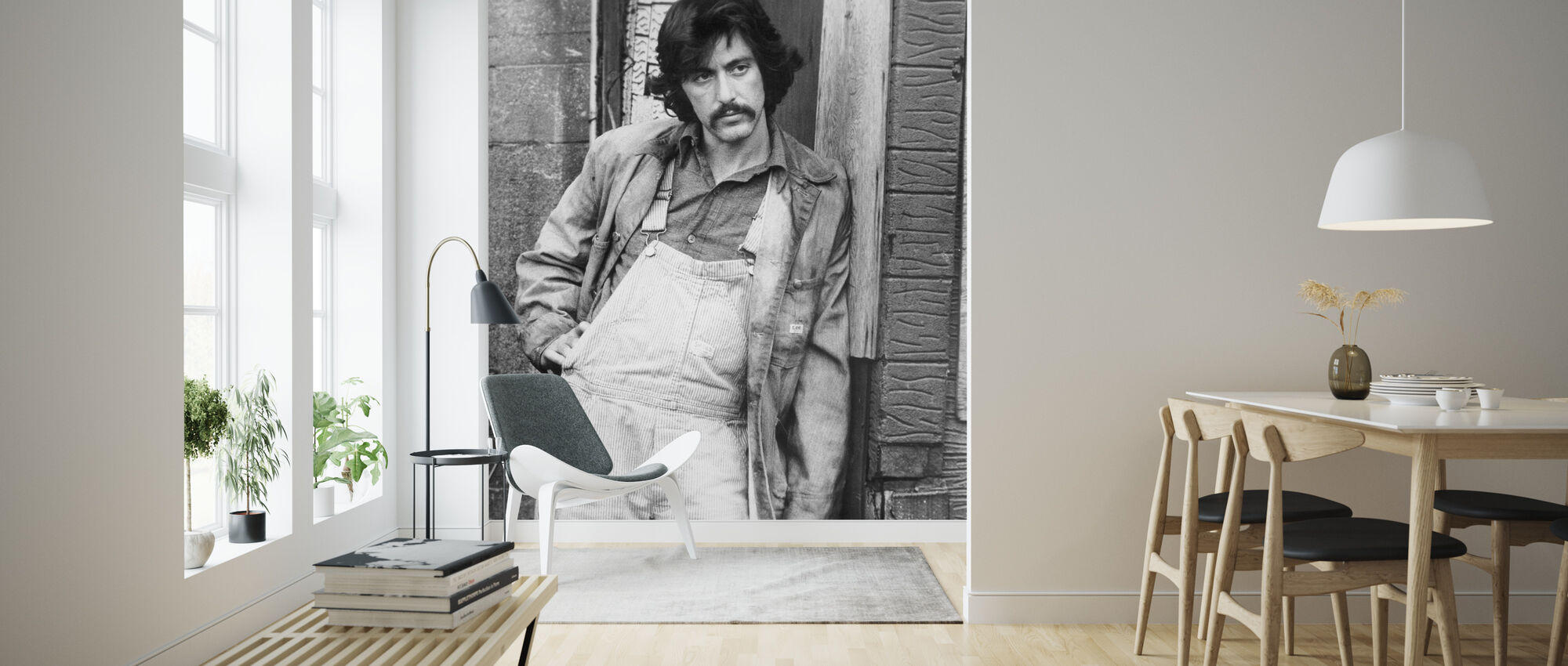 Serpico - Wallpaper - Living Room