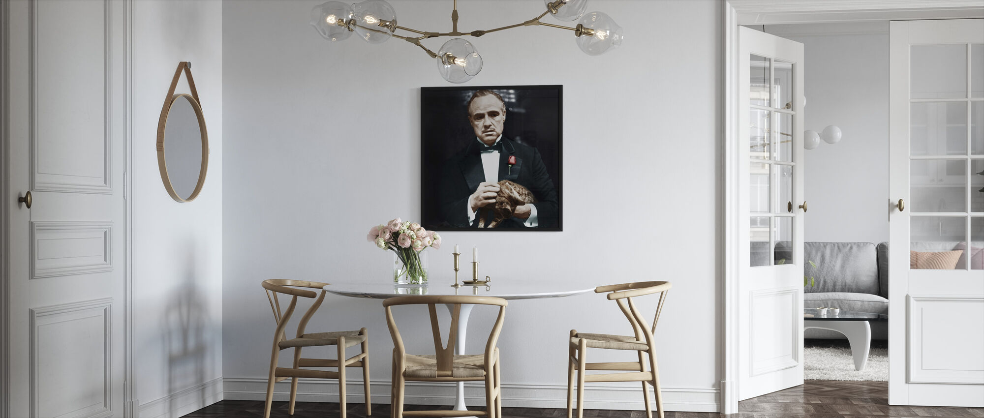 The Godfather - Cat - Framed print - Kitchen