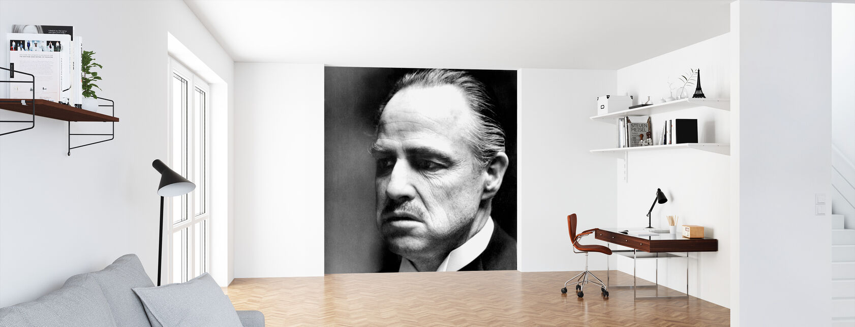Godfather - Don Vito Corleone - Tapet - Kontor