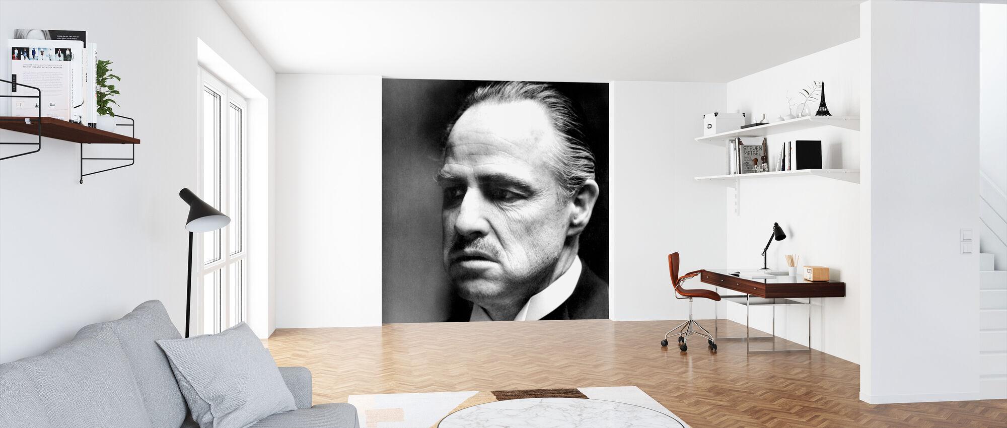 Ojciec Chrzestny - Don Vito Corleone - Tapeta - Biuro