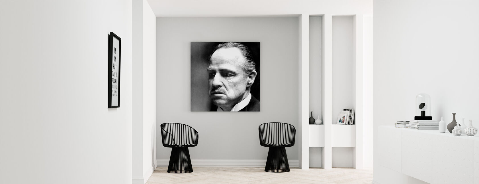 De peetvader - Don Vito Corleone - Canvas print - Gang