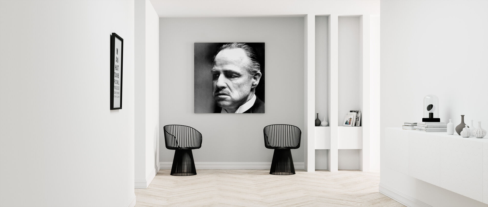 Gudfadern - Don Vito Corleone - Canvastavla - Hall