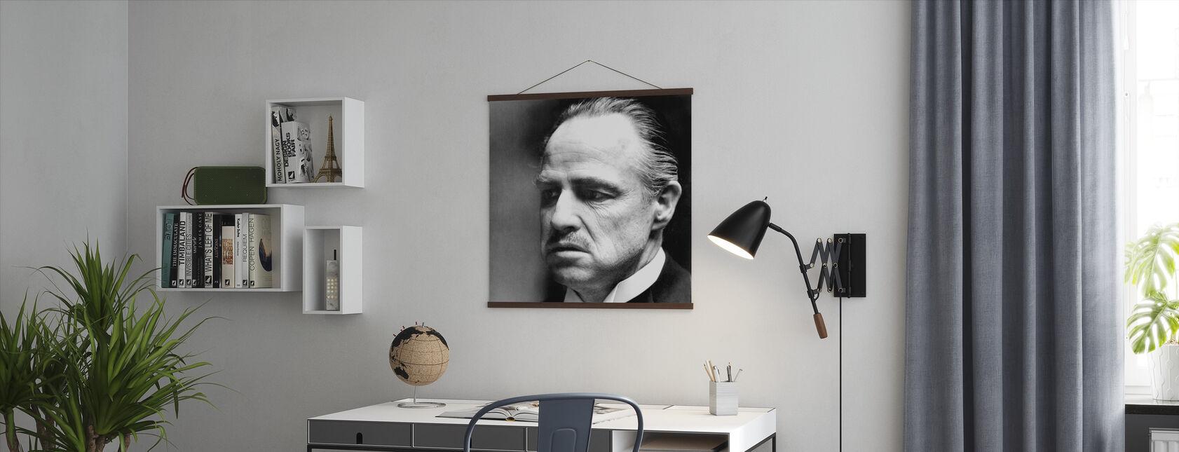 Gudfadern - Don Vito Corleone - Poster - Kontor