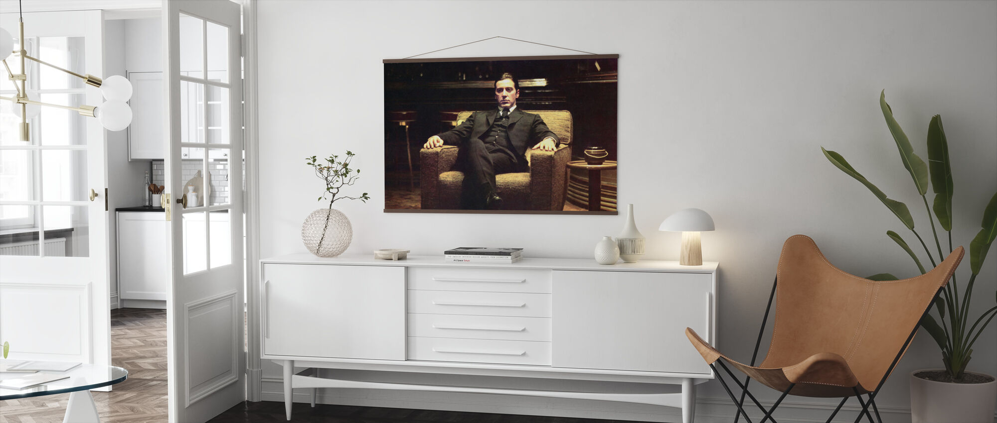 The Godfather - Leaned Back Michael Corleone - Poster - Living Room