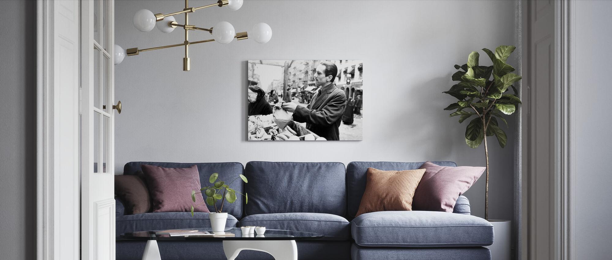 Ojciec Chrzestny - Rynek - Obraz na płótnie - Pokój dzienny