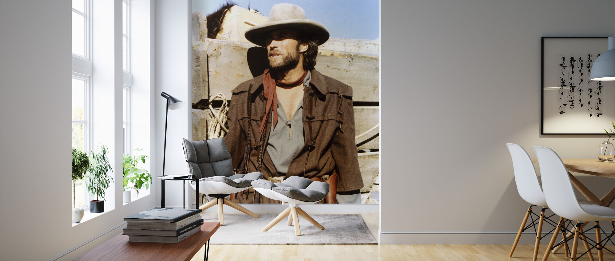The Outlaw Josey Wales - Color - Wallpaper - Living Room