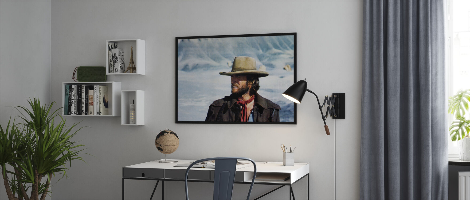 The Outlaw Josey Wales - Winter Sun - Framed print - Office