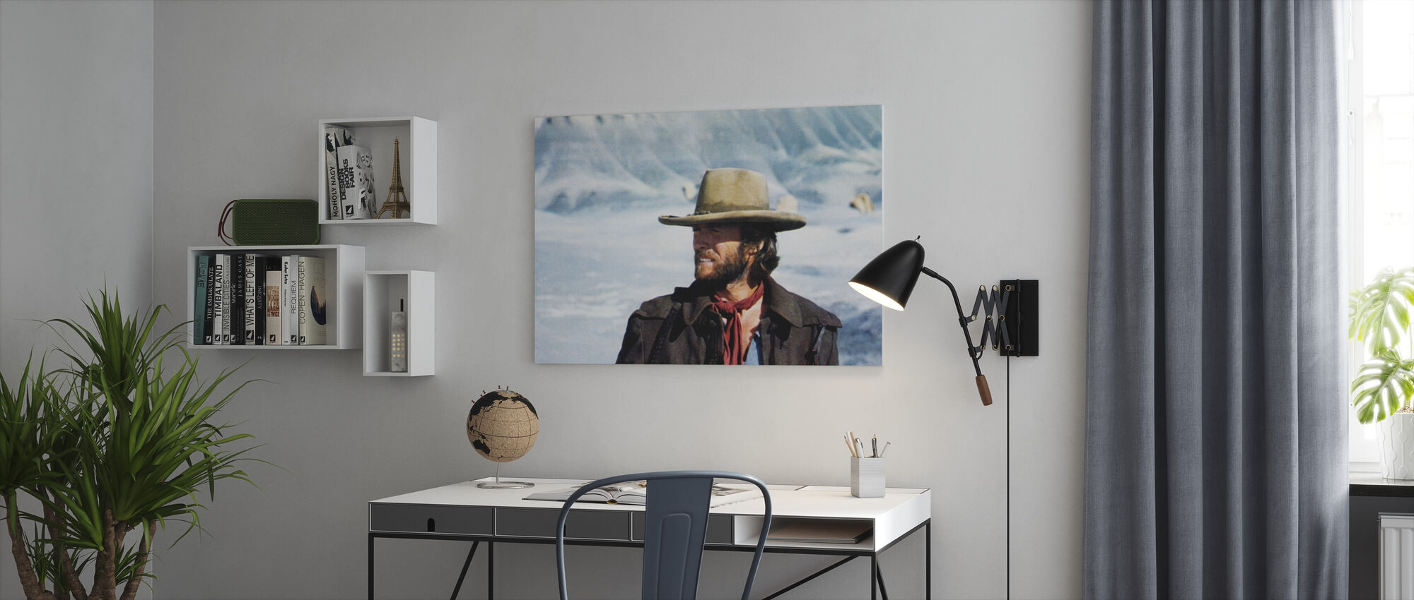 The Outlaw Josey Wales - Winter Sun - Canvas print - Office