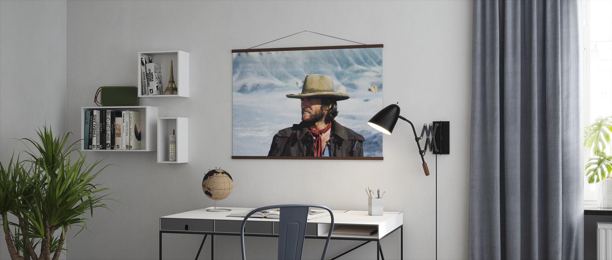 Den fredløse Josey Wales - Vinter solen - Plakat - Kontor