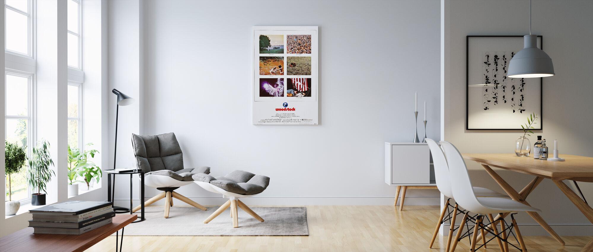 woodstock photo movie poster commandez votre impression sur toile en ligne photowall. Black Bedroom Furniture Sets. Home Design Ideas