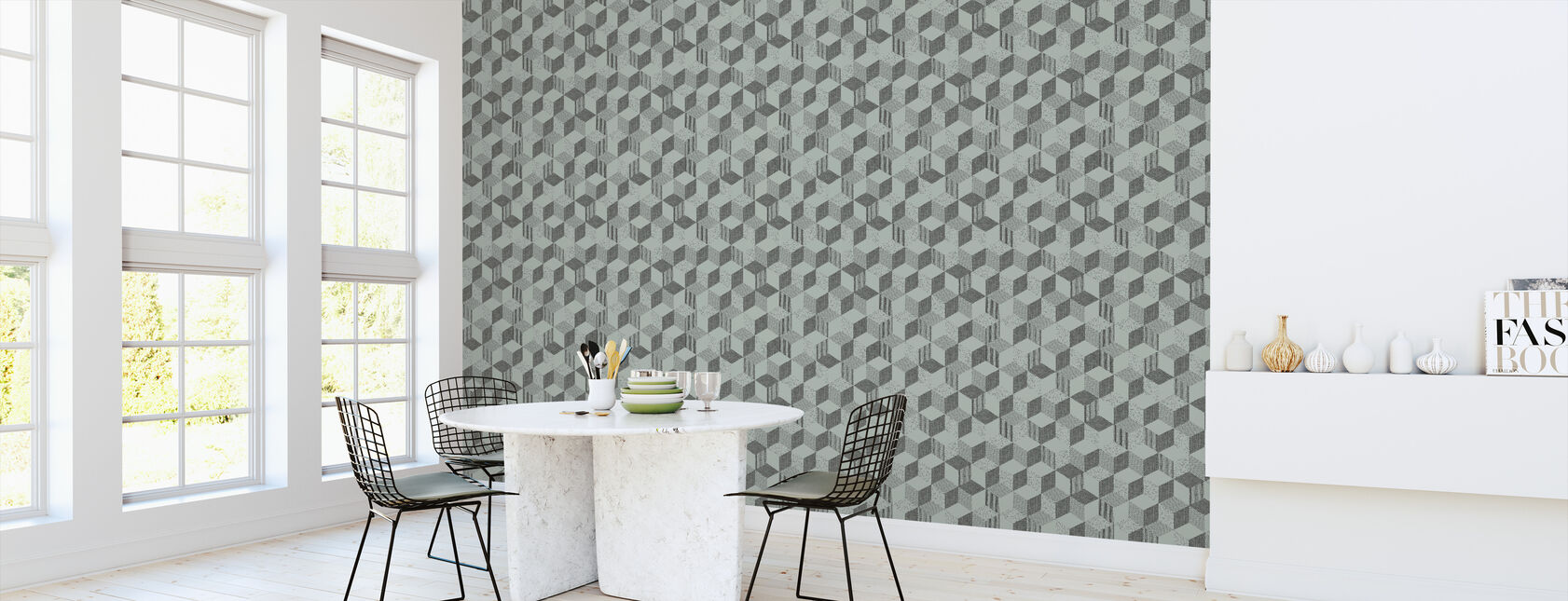 Kitchen wallpaper and dining room inspiration