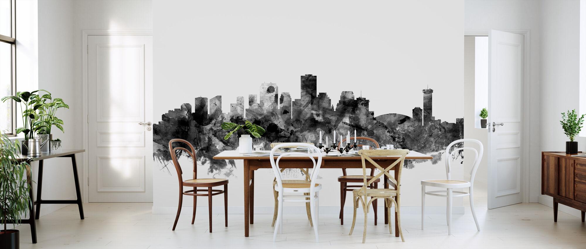 new orleans louisiana skyline black d coration murale populaire photowall. Black Bedroom Furniture Sets. Home Design Ideas