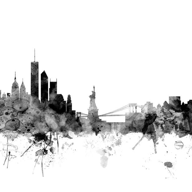 New York Skyline Wallpaper: High-quality Wall Murals With Free UK